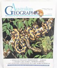 Australian Geographic Magazine # Twenty Two April June 1991 + Cape York Map