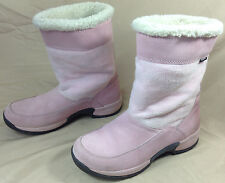 Sporto Leather & Polartec Insulated Boots Womens Size 8.5 M Pink