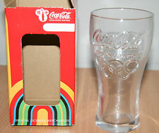 Collectable Coca Cola 2012 London Olympics Glass Boxed New Worldwide Partner
