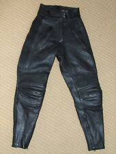 BELSTAFF Vintage Leather Motorcycle Trousers Ladies 10