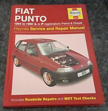 USED Haynes 3251 Workshop Manual Fiat Punto Petrol & Diesel 1994 to 1996