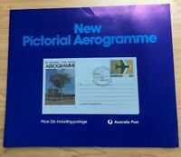 SP82a) 1981 Australia Post Poster First Day Cover Pictorial Aerogramme