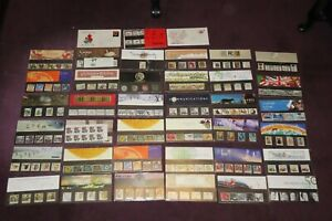 COLLECTION of 36 PRESENTATION PACKS of GB STAMPS Royal Mail