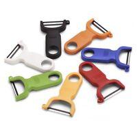 Kuhn Rikon Peeler Plastic handle, Carbon Steel Blade, Choice of Six Colors