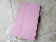 Elsse Asus  MeMOPad 8 M180A Leather Tablet Stand Folio Cover PINK LOT of 5