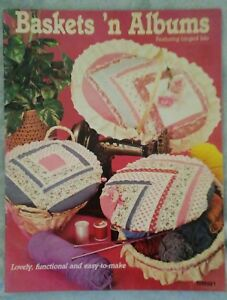 Baskets 'n Albums Featuring Hinged Lids (1983, Paperback).
