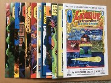 League of Extraordinary Gentlemen 1999 1-6 2002 1-6 12 Books Volume One and Two