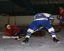AHL 1971 Ken Dryden Montreal Voyageurs Color Game Action 8 X 10 Photo Free Ship