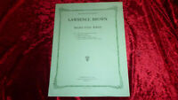 Lawrence Brown NEGRO FOLK SONGS as sung by PAUL ROBESON Edition Schott 1930 RAR!