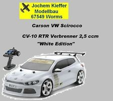 "Carson VW Scirocco RTR ""White-Edition"" Verbrenner CV-10 mit 2,4 Ghz RC NEU OVP !"