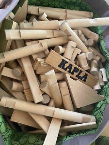 KAPLA Steine Holzplättchen 1000er  (nicht komplett)