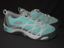 Keen Teal Gray Low Hiking Trail Athletic Shoes Women's US 7M