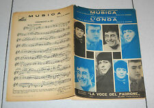 Spartito AL BANO Musica GIUSY ROMEO L'onda  Festivalbar 1968 Songbook