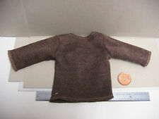 """1:6 Scale loose fitting brown shirt 12""""Inch figure Medieval **Like Dragon Ignite"""