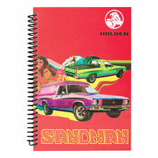 123199 HOLDEN SANDMAN NOTEBOOK A5 SPIRAL BOUND BOOK WITH LINED PAPER
