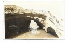 VINTAGE RPPC REAL PHOTO VIEW POSTCARD SUNSET CLIFFS POINT LOMA SAN DIEGO CA