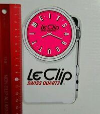 Aufkleber/Sticker: Le Clip Swiss Quartz (08041671)