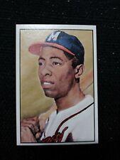 1983 Big League Collectibles Diamond Classics #82 Hank Aaron Milwaukee Braves