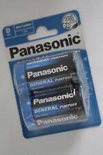 Panasonic General Purpose Batterien Blister D Mono LR20, 2-6 Stück
