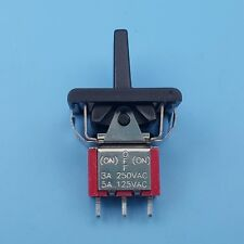 SH R8016A (ON)-OFF-(ON) Momentary 3Pin 3Position SPDT Mini Paddle Toggle Switch