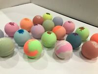 BATH FIZZIES VERY LUSH & LUXURIOUS BATH BOMB FIZZY 10 LOT ASSORTED DRY SKIN