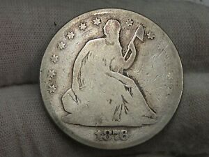 1876 Seated LIBERTY Half Dollar. #10