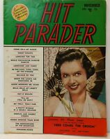 Hit Parader Magazine Back Issue November 1951 Debbie Reynolds FR A
