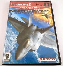Ace Combat 4: Shattered Skies Greatest Hits (Sony PlayStation 2, 2004)