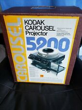 Kodak Carousel Projector 5200 with Side Screen, Stack Sorter and 2 Trays