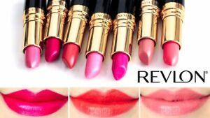 REVLON Super Lustrous Lipstick -New, Sealed ~CHOOSE YOUR SHADE~