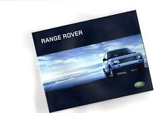2004 Land Rover RANGE ROVER Brochure / Catalog with Color Chart (USA, left hand)