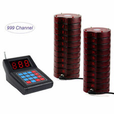 Restaurant Paging Queuing Calling System Waiter Transmitter+20 Guest Call Pagers