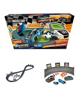 Kids Toy Track Racer Set Force Crash Cars Figure 8 Circuit Racing Car Playset