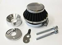 43cc 49cc Performance UFO Chrome Air Filter Kit for Kid Stand up Gas Scooters