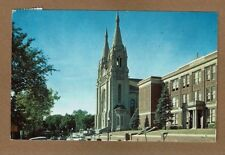 Sioux Falls,Sd South Dakota, St Joseph's Cathedral and High School used H.P.O.