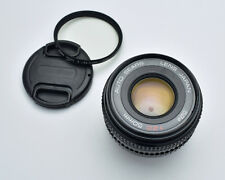 Auto Sears 50mm f/2 Prime Lens Caps & Filter Pentax PK Mount (#3444)