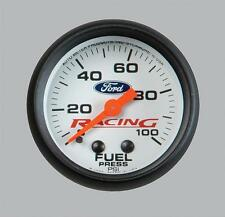 "Ford Racing 2-1/16"" 0-100 PSI Fuel Pressure Gauge Made By Autometer  M-9275-A200"