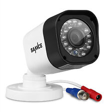 SANNCE 720P HD Wired IP66 In/Outdoor IR-CUT CCTV Home Security Camera 1500TVL