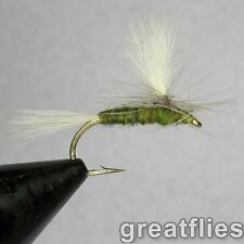 1 dozen (12) - Blue-winged Olive parachute