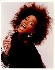 Whitney Houston vintage 1980's 8x10 studio portrait photograph
