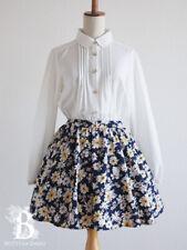 🌹Sorridere🌹Docking Dress Hello Kitty Sanrio Floral White Lolita Japan F164