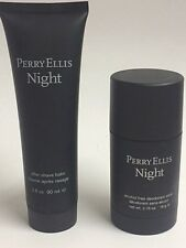 Perry Ellis Night by Perry Ellis 2pc Set DEODORANT & AFTER SHAVE BALM