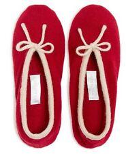 New! $125 ARLOTTA Cashmere Ballet Slipper, Size M/L (8/9)