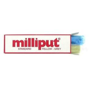 1 x Milliput Standard Yellow Grey 2 Part Putty Epoxy Filler Model Repair 113.4g
