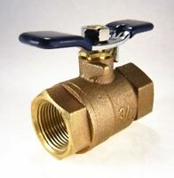 """Febco 3/4"""" Ball Valve, Non Tapped, Full Port - T Handle - Fits Wilkins"""