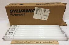 "Sylvania Fluorescent Bulbs Set 7 Cool White 15 W 2 Pin F15T8/CW 18"" HG E4M3"