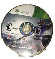 Madden NFL 16 Xbox 360 Kids Football Game Disc 2016