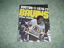 1976 Boston Bruins Hockey Yearbook