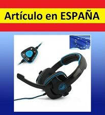 Auriculares USB 7.1 dolby surround SADES gaming CASCOS microfono STEREO o 5.1