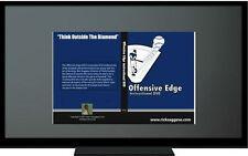 Baseball & Softball Hitting Infield Outfield Instructional DVD's-NEW (SAVE $10)